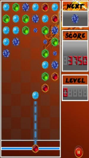 iPhone、iPadアプリ「マッチ 3 宝石とダイヤモンドのプロ ゲーム - A Match 3 Jewels And Diamonds Pro Game」のスクリーンショット 5枚目