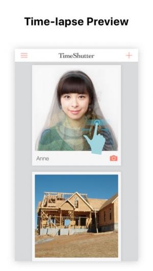 iPhone、iPadアプリ「TimeShutter - daily selfies」のスクリーンショット 1枚目