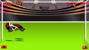iPhone、iPadアプリ「サッカーのゴールキーパーのプロ ゲーム - Soccer Goalie Pro Game」のスクリーンショット 3枚目