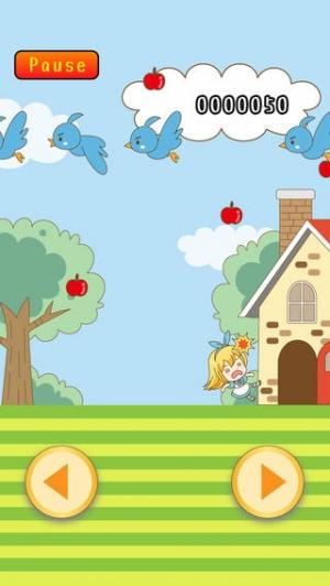 iPhone、iPadアプリ「不思議の国のリンゴ注意報」のスクリーンショット 2枚目