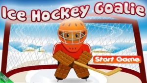 iPhone、iPadアプリ「アイス ホッケーのゴールキーパーの無料ゲーム - Ice Hockey Goalie Free Game」のスクリーンショット 1枚目