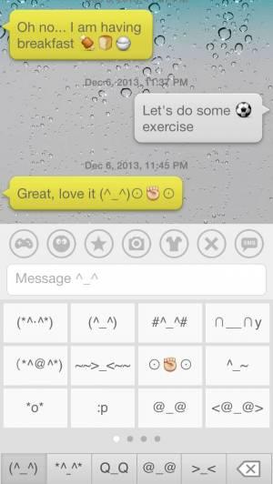 iPhone、iPadアプリ「絵文字 Dream Emoji 3 – talk with emoticon smiley face in emoji keyboard ^_^」のスクリーンショット 3枚目