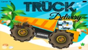 iPhone、iPadアプリ「トラックの冒険:危険の道に贈り物を届ける。モンスタートラックを運転する方法。車、トラック、トラクターについては、こちらをご覧ください。大人と子供のためのゲーム:無償、新」のスクリーンショット 3枚目