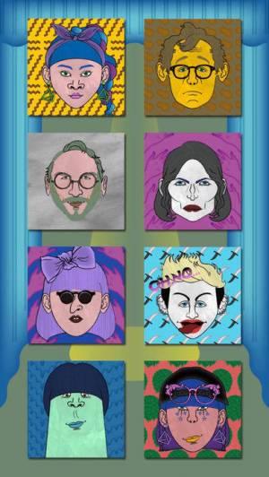 iPhone、iPadアプリ「Like me! 似顔絵をつくろう - キテレツ風」のスクリーンショット 1枚目