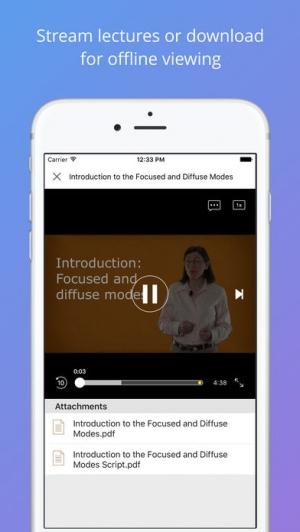 iPhone、iPadアプリ「Coursera: Top online courses」のスクリーンショット 3枚目
