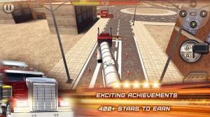iPhone、iPadアプリ「3D Trucker: Driving and Parking Simulator - 車と欧州のコンテナ貨物自動車と石油のトラックを駐車。現実的なシミュレーション、無料のレースゲー」のスクリーンショット 5枚目