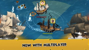 iPhone、iPadアプリ「Age Of Wind 3: Pirate Game PvP」のスクリーンショット 1枚目