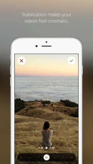 iPhone、iPadアプリ「Hyperlapse from Instagram」のスクリーンショット 1枚目