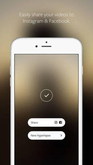 iPhone、iPadアプリ「Hyperlapse from Instagram」のスクリーンショット 4枚目