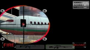iPhone、iPadアプリ「空港コマンドス(17 +) - 無料2用のスナイパーゲーム」のスクリーンショット 2枚目