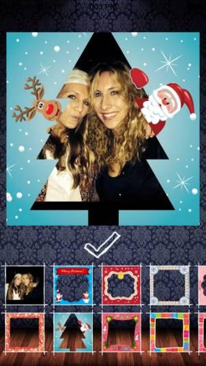 iPhone、iPadアプリ「Frame my photo: デジタルフォトフレーム、グリーティングカード。メリー·クリスマス!」のスクリーンショット 5枚目