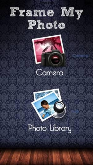 iPhone、iPadアプリ「Frame my photo: デジタルフォトフレーム、グリーティングカード。メリー·クリスマス!」のスクリーンショット 3枚目