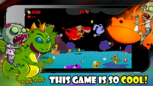 iPhone、iPadアプリ「A Zombie Dragon Rider in The City : FREE Flying & Shooting Multiplayer Games - By Dead Cool Apps」のスクリーンショット 4枚目
