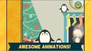 iPhone、iPadアプリ「子どものためのクリスマスゲーム:小さい子ども、男の子、女の子のための、かっこいいサンタクロース、雪だるま、トナカイジグソーパズルHD」のスクリーンショット 5枚目