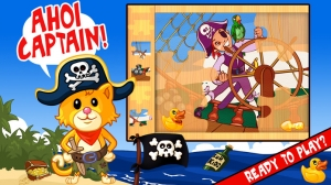 iPhone、iPadアプリ「My Pirates Puzzles - Mr. Pepper's Pirate Puzzle For Preschool Kids and Toddlers」のスクリーンショット 5枚目