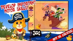 iPhone、iPadアプリ「My Pirates Puzzles - Mr. Pepper's Pirate Puzzle For Preschool Kids and Toddlers」のスクリーンショット 4枚目