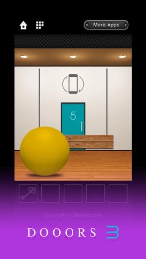 iPhone、iPadアプリ「脱出ゲーム DOOORS 3」のスクリーンショット 2枚目
