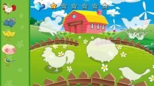iPhone、iPadアプリ「赤ちゃんハッピーファーム動物園パズル - カラフルな農場の風景、英語の動物学の知識、特に2から12歳の赤ちゃんのために設計」のスクリーンショット 3枚目
