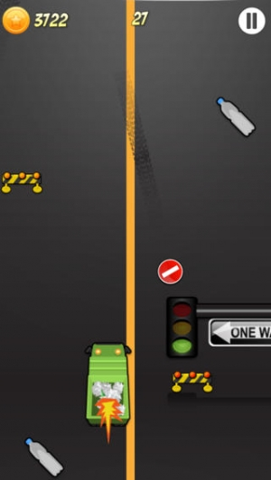 iPhone、iPadアプリ「A Cool Garbage Truck-er Driving Race Game By The Best Top Free Drive-r Games For Crazy Teen-s Girl-s Boy-s & Kid-s」のスクリーンショット 1枚目
