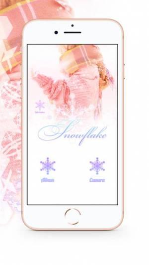 iPhone、iPadアプリ「Snowflake (スノーフレーク)」のスクリーンショット 2枚目