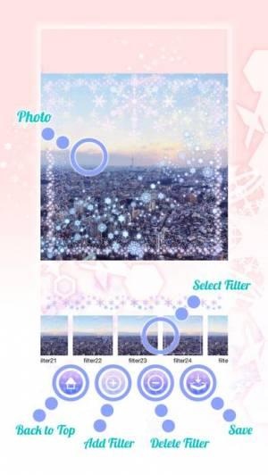 iPhone、iPadアプリ「Snowflake (スノーフレーク)」のスクリーンショット 3枚目