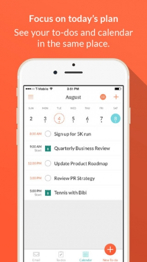 iPhone、iPadアプリ「Handle: To-do List, Inbox, and Calendar Management」のスクリーンショット 4枚目
