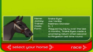 iPhone、iPadアプリ「Horse Racing 3D - Stay The Distance!」のスクリーンショット 2枚目