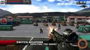 iPhone、iPadアプリ「Death Shooter 3D」のスクリーンショット 2枚目