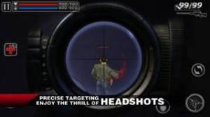iPhone、iPadアプリ「Death Shooter 3D」のスクリーンショット 3枚目