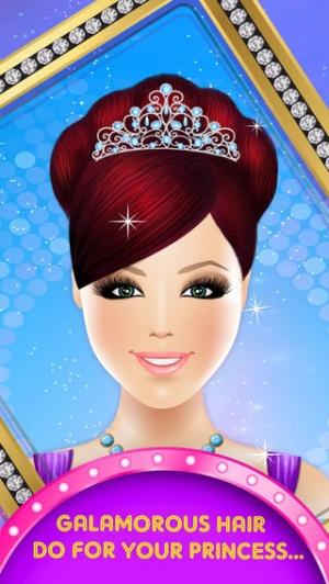iPhone、iPadアプリ「Princess Hair Salon Deluxe」のスクリーンショット 5枚目