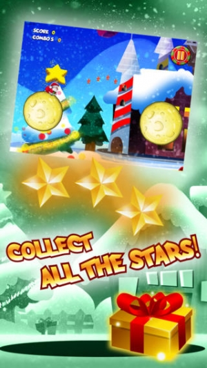 iPhone、iPadアプリ「Santa Claus Christmas Strip Jump Action - Hilarious underwear family xmas adventure ho ho ho FREE by Golden Goose Production」のスクリーンショット 3枚目