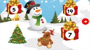 iPhone、iPadアプリ「アドベントカレンダー - あなたの12月のクリスマスの歌とプレゼントのパズルゲームとアドベントのシーズン!子供と親のためのメリークリスマス!」のスクリーンショット 3枚目