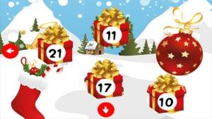 iPhone、iPadアプリ「アドベントカレンダー - あなたの12月のクリスマスの歌とプレゼントのパズルゲームとアドベントのシーズン!子供と親のためのメリークリスマス!」のスクリーンショット 4枚目