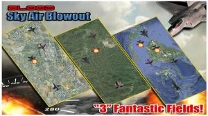 iPhone、iPadアプリ「Skies of Blood Free: Migs Jet Deathmatch skirmish」のスクリーンショット 3枚目
