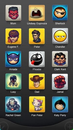 iPhone、iPadアプリ「アイコボックス  - あなたのコンタクトに新しい風を!」のスクリーンショット 4枚目