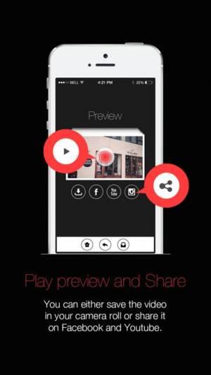 iPhone、iPadアプリ「15Seconds Photo Movie」のスクリーンショット 5枚目