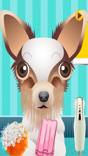 iPhone、iPadアプリ「A Cute Puppy Shave Salon - eXtreme Makeover Spa Games Edition」のスクリーンショット 4枚目