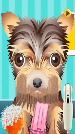 iPhone、iPadアプリ「A Cute Puppy Shave Salon - eXtreme Makeover Spa Games Edition」のスクリーンショット 1枚目