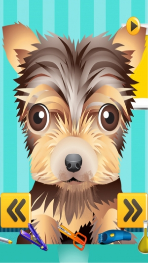 iPhone、iPadアプリ「A Cute Puppy Shave Salon - eXtreme Makeover Spa Games Edition」のスクリーンショット 2枚目