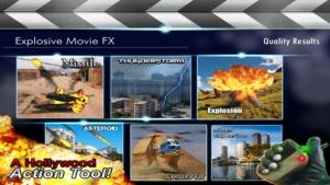 iPhone、iPadアプリ「Explosive Movie Editor」のスクリーンショット 1枚目