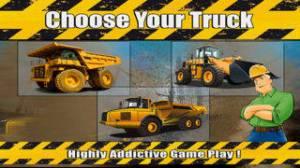iPhone、iPadアプリ「Mega Construction Truck Race Free : Big Tractor Racing Sim」のスクリーンショット 1枚目