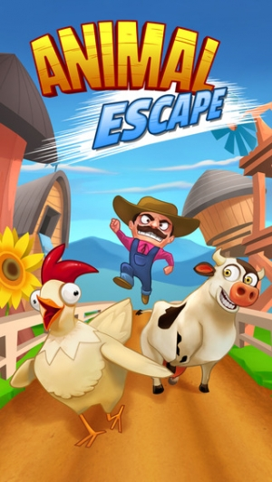 iPhone、iPadアプリ「Animal Escape - Endless Arcade Runner by Fun Games For Free」のスクリーンショット 2枚目