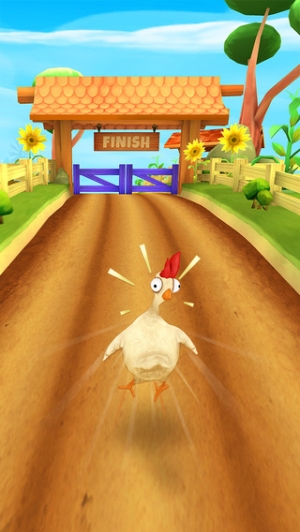 iPhone、iPadアプリ「Animal Escape - Endless Arcade Runner by Fun Games For Free」のスクリーンショット 4枚目