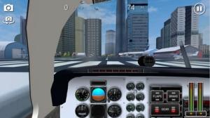 iPhone、iPadアプリ「Flight Sim BeachCraft City」のスクリーンショット 2枚目
