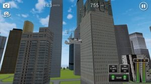 iPhone、iPadアプリ「Flight Sim BeachCraft City」のスクリーンショット 4枚目
