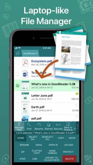 iPhone、iPadアプリ「GoodReader PDF Editor & Viewer」のスクリーンショット 2枚目