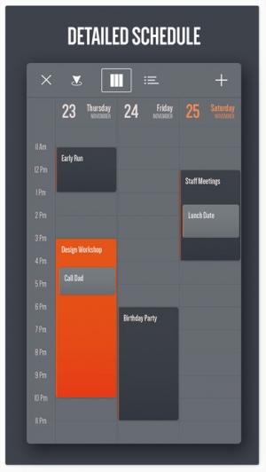 iPhone、iPadアプリ「Vantage Calendar」のスクリーンショット 4枚目
