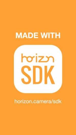 iPhone、iPadアプリ「Horizon Camera」のスクリーンショット 5枚目