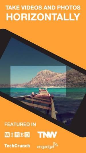 iPhone、iPadアプリ「Horizon Camera」のスクリーンショット 1枚目
