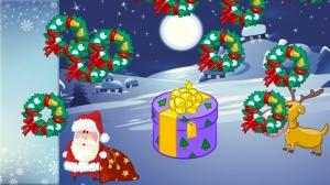 iPhone、iPadアプリ「幼児や子供のためのクリスマスのパズル。サンタクロースを発見!教育用パズルゲーム - 子供のためのゲーム - 幼児用パズル - 無料アプリ」のスクリーンショット 3枚目